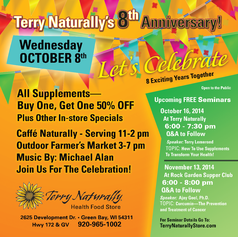 Terry Naturally Health Food Store Green Bay Wi